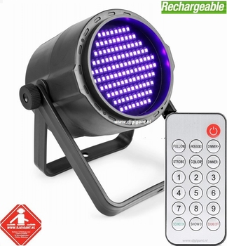 BeamZ PLS20 Blacklight UV Par DMX